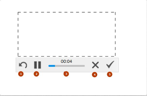интерфейс программы скриншотер при записи видео