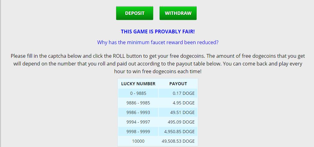 таблица вознаграждений за выпавшее число