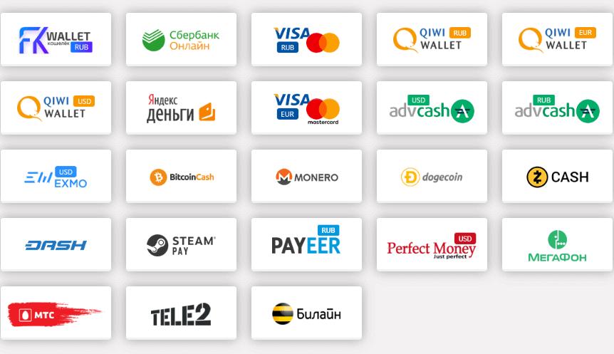 способы оплаты через free kassa на сервисе накрутки bigsmm