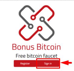 кнопка для начала регистрации