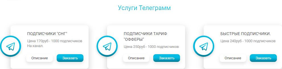раскрутка и продвижение в Telegram