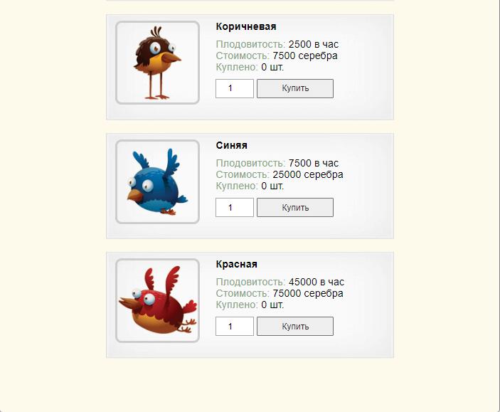 более дорогие птицы