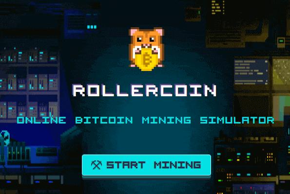 стартовая страница проекта rollercoin