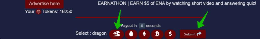 пример решения капчи после просмотра сайта