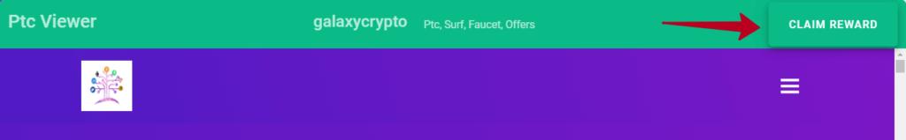 кнопка для получения оплаты за просмотр рекламируемого сайта