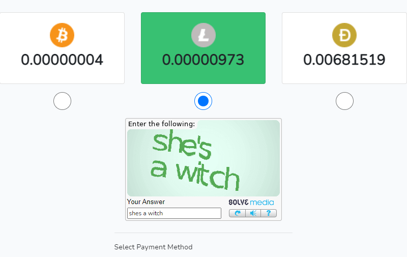 выбор криптовалюты для вывода